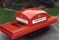 About the Phoney Box replica telephone box with prices